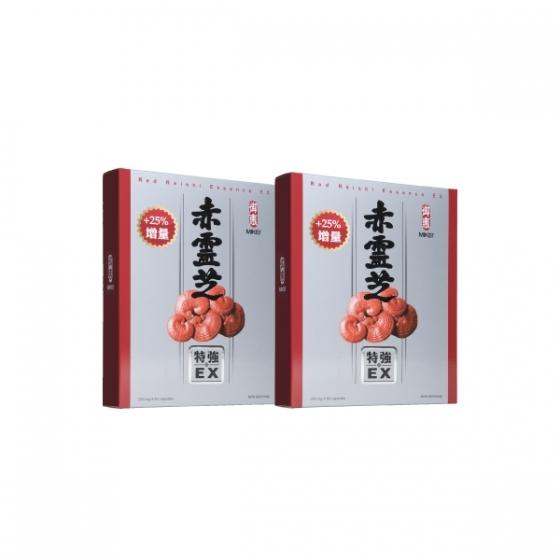 【御惠牌】赤靈芝特強EX 2盒装